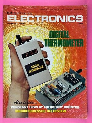 PRACTICAL ELECTRONICS - Magazine - August 1978 - Digital Thermometer