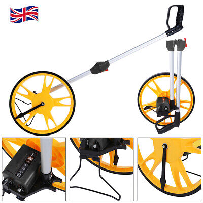 Foldable Distance Measuring Wheel with Stand Carrier Bag Road Land Measure Tool