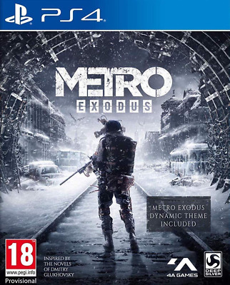 Metro Exodus Day One Edition PS4 NEW ! BLACK FRIDAY SALE ! DISP. BY 2 P.M