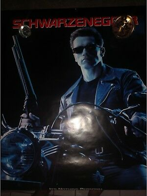 1991 Terminator 2 Judgment Day Original Movie Poster - Rolled Double-Sided