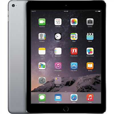 "5X APPLE iPAD AIR WiFi 32GB SPACE GREY 9.7"" RETINA UNLOCKED JOBLOT BULK GRADE A"