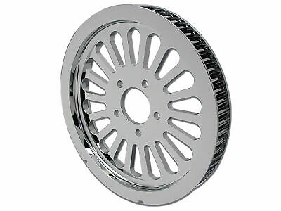 Rear Pulley 65 Tooth Chrome for Harley Davidson by V-Twin