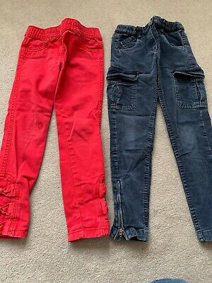 Girls Monsoon And next Trousers Age 6