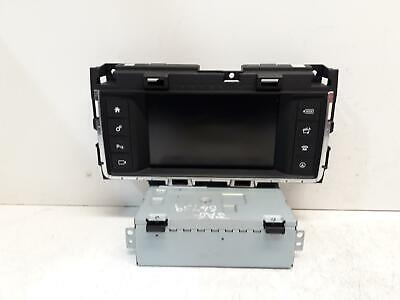 Jaguar Xf Sat Nav Unit And Screen Hx63-18K812-Cb Fk72-19C299-Ac