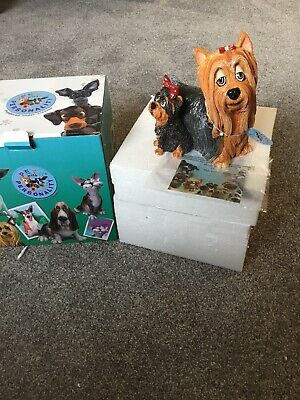 PETS WITH PERSONALITY 5504 YORKIE AND PUP COLLECTABLE ORNAMENTS Dog