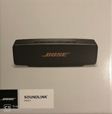 BOSE SoundLink Mini II 2 Portable Wireless Bluetooth Speaker - Black / Copper