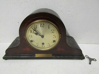 Shelf / Mantle Clock in Wooden Case - SPARES REPAIR PARTS | Vintage Old