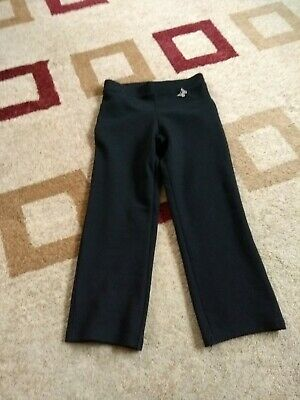1 pair of Girls School Trousers Black Aged 6 Years