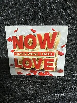 Now That's What I Call Love, 2016 61 tracks on 3cds, Sony New/Sealed