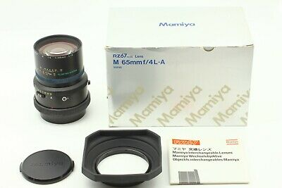【MINT in BOX】 Mamiya M 65mm f/4 L-A Floating System for RZ67 Pro II D JAPAN #986