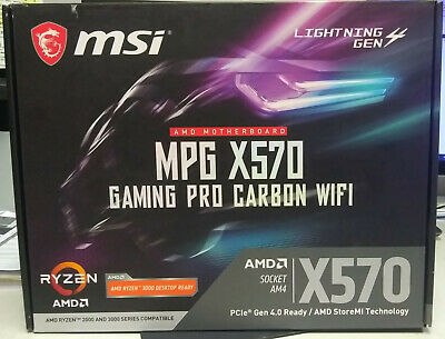 Motherboard MSI AM4 MPG X570 GAMING PRO CARBON WIFI
