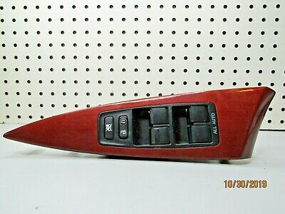 07 08 09 10 11 12 13 14 CAMRY DRIVERS SIDE LEFT MASTER WINDOW SWITCH OEM M353