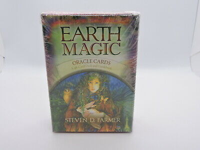 Earth Magic Oracle Card Deck and Guidebook by Steven D. Farmer