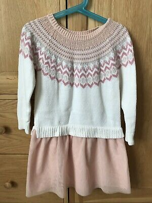 Baby Gap Girls Knitted Dress Age 5 Years