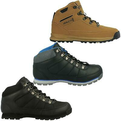 Henleys Mens Boots Travis Hiking Walking Lace Up Outdoor Winter Shoes UK 7 - 12