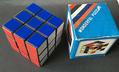 Vintage 1980/'s Wonderful Puzzler Rubiks Cube-New
