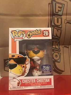 Funko Pop Ad Icons Chester Cheetah With Cheetos Hollywood Store Exclusive