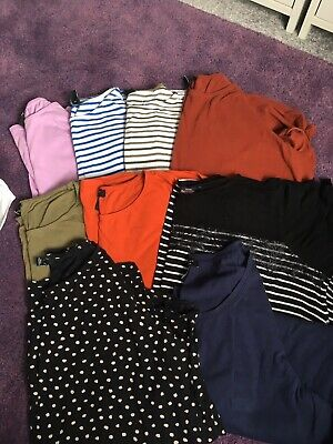 9 X Maternity Tops Size 18