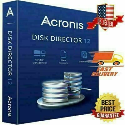 Acronis Disk Director 12.5 Lifetime 5 PCs Data Recovery, Genuine license!