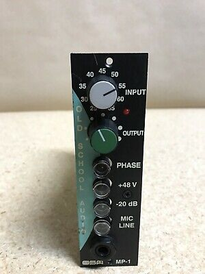 OLD SCHOOL AUDIO 500 Series Mic Preamp