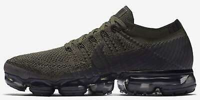 Nike Mens Vapormax Fabric Low Top Lace Up Fashion Sneakers, Green, Size 8.0