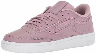 REEBOK WOMENS CLUB C 85 Low Top Lace Up Running Sneaker