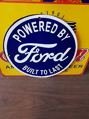Ford New Quality Porcelain Enamel Sign
