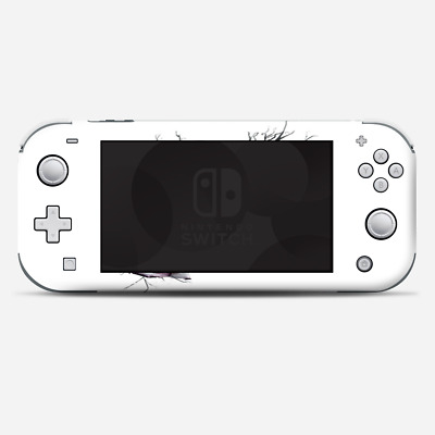 Skins Decals wrap for Nintendo Switch Lite - Roses in Skull