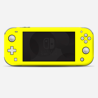 Skins Decals wrap for Nintendo Switch Lite - Bright Yellow