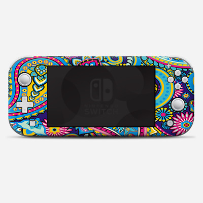 Skins Decals wrap for Nintendo Switch Lite - Colorful Paisley Mix