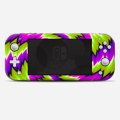 Skins Decals wrap for Nintendo Switch Lite - Psychedelic Moving Swirls