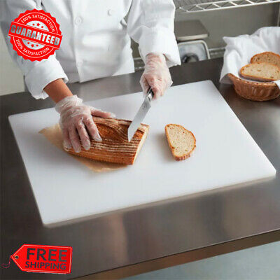"24"" x 18"" x 1/2"" Large White Cutting Board, NSF Listed FREE SHIPPING USA"