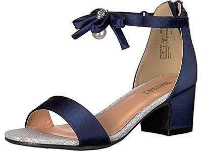 Badgley Mischka Kids Girl's Pernia Emily (Little Kid/Big Kid), Navy, Size 2.0 nj