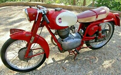1958 Gilera 150 Sport Unrestored Unmolested