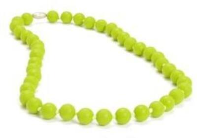 Chewbeads Chartreuse Jane Necklace