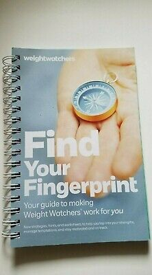 Weight Watchers Book Find Your Fingerprint New Version of Success