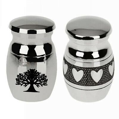 Mini Urn for Ashes Cremation Memorial Small Keepsake Ash Container Jar UK