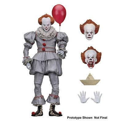 """7"""" Action Figure 1:12 Scale NECA IT Well House Pennywise Clown 2017 Ultimate"""