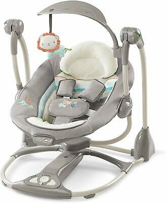 Baby Bouncer Swing Chair Rocker Toys Vibration Unisex Boy Girl Seater Newborn