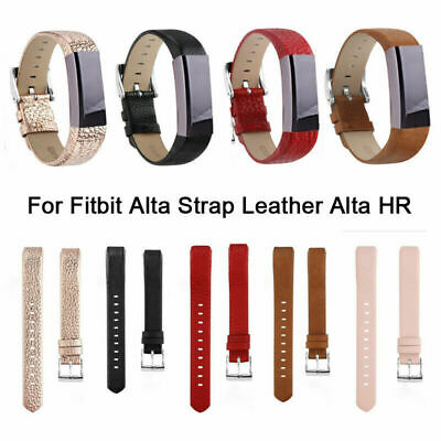 For Fitbit Alta HR Genuine Leather Watch Replacement Band Wrist Strap Bracelet