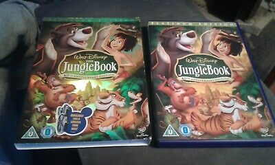 Jungle Book (DVD, 2007, 2-Disc Set, Box Set) Walt Disney's REG 2