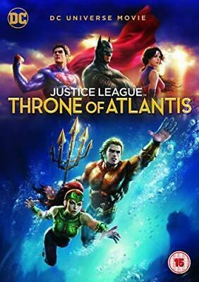 Justice League: Throne Of Atlantis DVD New & Sealed
