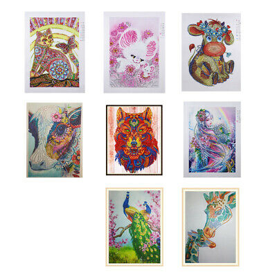 Special Shaped Diamond Painting Crystal Partial Drill Crafts Animal Pictures
