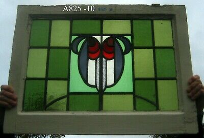 A825 Stained glass    Ca 1890s