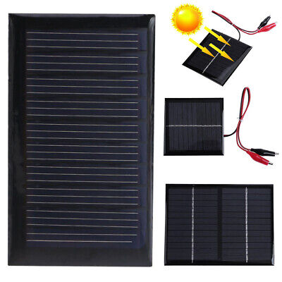 5/9/12V Mini Solar Panel System For DIY Battery Cell Phone Charger Module