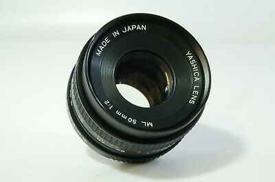 Vintage Lens Yashica ML 50mm F2 Yashica Contax Y/C mount Ref. 551933
