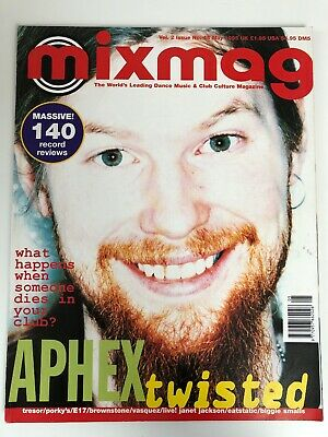 MIXMAG Magazine - May 1995 - APHEX TWIN