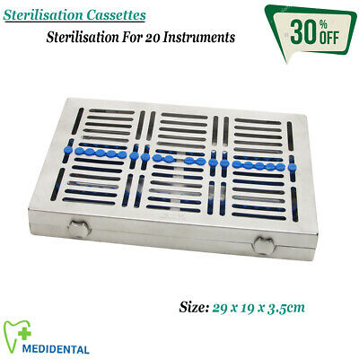 STERILIZATION Cassette Of 20 Instruments Removable For Holding Surgical Tools CE
