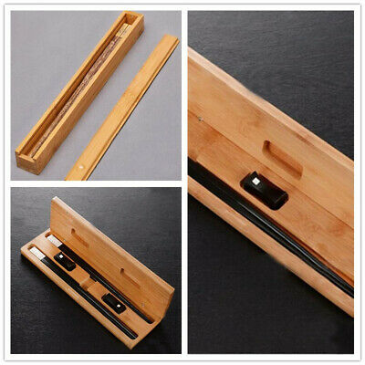 Chinese-Style Wooden Chopsticks Box Set Portable Travel Wood Chopsticks Boxes