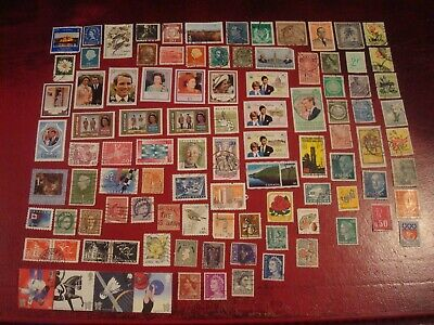 WORLDWIDE - 99 x WORLDWIDE STAMPS (13) - ALL DIFFERENT